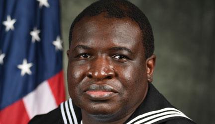 US Navy Petty Officer Stephen Mamman